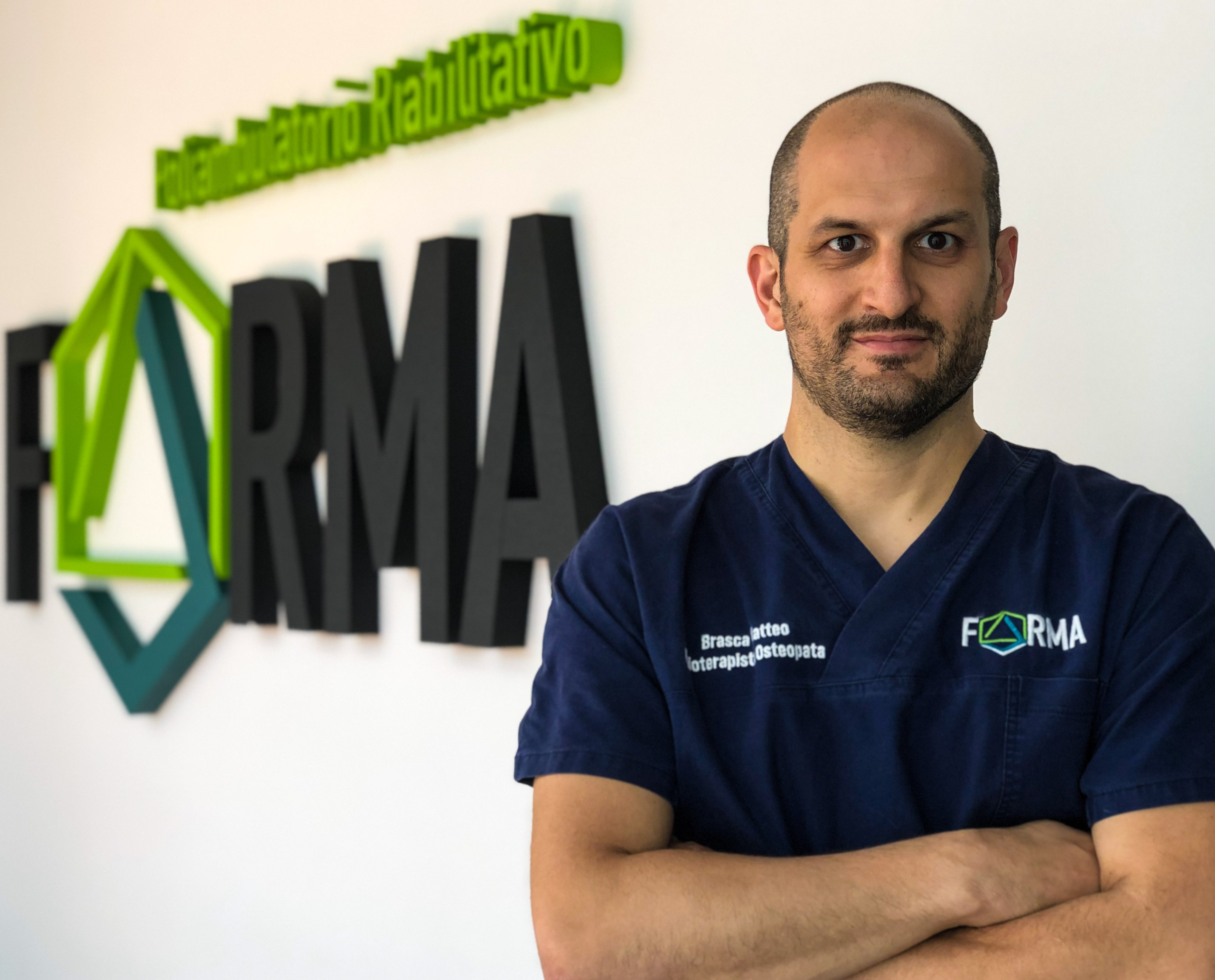 Dott Brasca Matteo Fisioterapista Osteopata FORMA Poliambulatorio